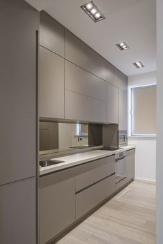 9 inspirational simple kitchen design ideas you must try 6 Modern Kitchen Interiors, Luxury Kitchen Design, Design Your Kitchen, Modern Kitchen Cabinets, Kitchen Cabinet Design, Home Decor Kitchen, Interior Design Kitchen, Kitchen Ideas, Apartment Kitchen