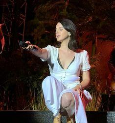 Lana performing at 'Aerodrome Festival', Prague, Czech Republic (June 29, 2018)