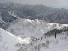 Ski resorts Asia – ski resort Naeba (Mt. Naeba)