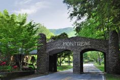 The iconic Montreat Gate. Welcome home!