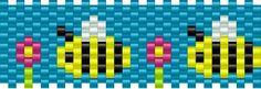 bee bead pattern