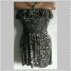Summer dress sale Final Markdown Mini dress The super cute dress by Diva is in excellent condition Diva Dresses Strapless