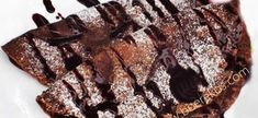 Sjokolade Pannekoek | Boerekos – Kook met Nostalgie Waffles, Pancakes, Crepes, Nutella, Baking Recipes, French Toast, Recipies, Desserts, Food