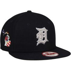 Detroit Tigers New Era State Stare Original Fit 9FIFTY Snapback Adjustable  Hat - Navy 2bee4802180