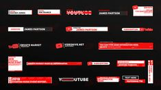 After Effects Projects, After Effects Templates, Vfx Tutorial, Lower Thirds, Creative Video, Text Design, Hd 1080p, Video Editing