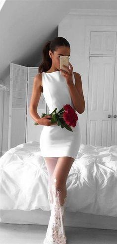 White mini dress http://wp.me/p8qGNK-hN