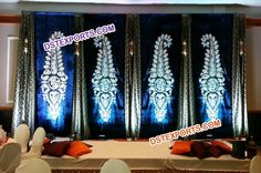 We are manufacturer and exporter for any type of wedding stage backdrop curtain drapes.