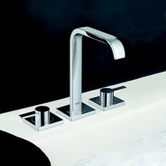 Contemporary bathroom basin mixer design from @grohe_us. See more on Modenus: #GROHEOnModenus