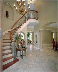 Over 290 Different Staircase Design Ideas. http://pinterest.com/njestates/staircase-ideas/ove the iron staircase Thanks to http://njestates.net/