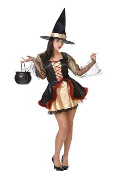 Disfraz de #bruja sexy