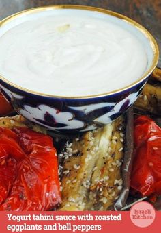 Drizzle this over your favorite veggies #recipe #israelikitchen #tahini
