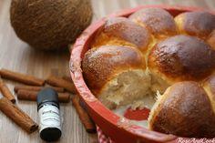 ✿ Pani Popo ✿ Brioche au lait de coco version Noël, à la cannelle! {pain des îles Samoa} Sans lactose, sans ...