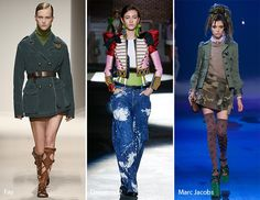 Spring/ Summer 2017 Fashion Trends: Military Fashion