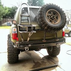 Almost done with the new rear bumper for the Green Slug