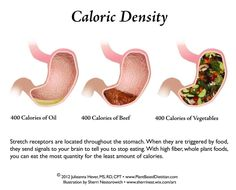 Breaking down how caloric density can positively or negatively affect weight loss