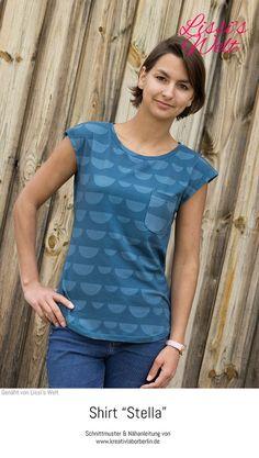 """Shirt """"Stella"""" genäht von Lissi's Welt"""