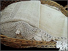 French antique linen