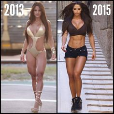 """Body Shaper - not Body Builder Growing legs is hard ⚡ Reducing thighs is harder"" Michelle Lewin"