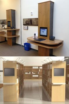 Touch screen installations at the West Waldorf Public Library (Maryland)