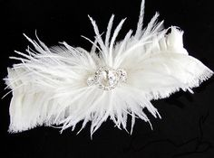 Bridal Garter Set Silk with Rhinestone and by bellesandcrystals