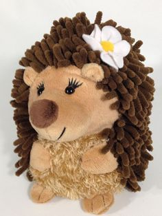 """Hedgehog DAISY Plush ABC Bakers GIRL SCOUT Cookies Stuffed Animal Porcupine 9""""  #ABCBakers"""