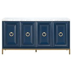 Marble Top, White Marble, Carrera, Classic Doors, Sideboard Buffet, Buffet Tables, Console Cabinet, Side Tables, Console Table