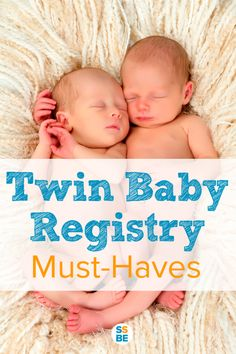 Need to know what exactly you need to prepare for the twins? You many not always need two of everything! Here are the twin baby registry must-haves, including what to get and how many.