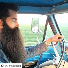 The Beard & The Beautiful Badass Beard, Sexy Beard, Epic Beard, Beard And Mustache Styles, Beard No Mustache, Grey Beards, Long Beards, Long Beard Styles, Hair And Beard Styles