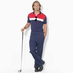 Ralph Lauren Golf Drive Pant | $298 | gifts for the sporty guy | mens golf pants | athletic | sports | golf | menswear | mens style | mens fashion | wantering http://www.wantering.com/mens-clothing-item/golf-drive-pant/afwdu/