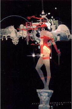 Bill Sienkiewicz Art | Elektra Assassina and Death by Bill Sienkiewicz – Literatura de HQ ...