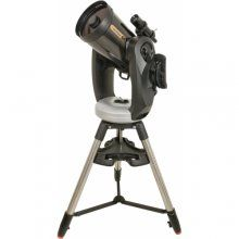the Celestron CPC 925 XLT telescope with a full GoTo funtion and a GPS receiver