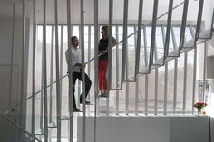 #modern #stairs #light #transparent #custom #dimsterarchitecture by DIMSTER Architecture