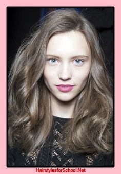 Ashy hair color, photo  #color #photo