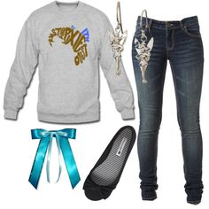 """Wendy Darling"" by sp0radic on Polyvore"