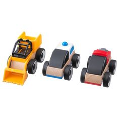 IKEA - LILLABO, Toy vehicle, mixed colours assorted colours, Possible to create lots of combinations. Recommended for ages from 18 months. Ikea Lillabo, Ikea Toys, Ikea Family, Wooden Train, Wood Toys, Building Toys, Fine Motor Skills, Color Mixing, Cleaning Wipes