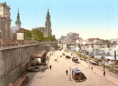 [Landing-place for steamers, Altstadt, Dresden, Saxony, Germany] Dresden Bombing, Grey Wallpaper Iphone, Amsterdam, Germany And Prussia, Kaiser Wilhelm, Dresden Germany, Vintage Architecture, Pictures Of People, Krakow