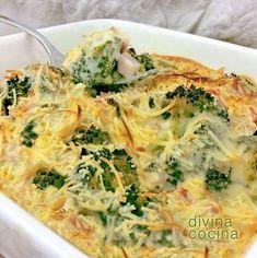 Este brócoli gratinado tiene una preparación sencilla y es un plato sabroso y consistente. Con esta misma receta puedes preparar también la coliflor.