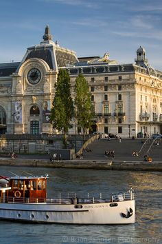 Musee d'Orsay and River Seine