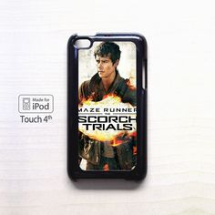 maze runner scorch trials poster dylan obrien AR for iPod 4/5 applecase
