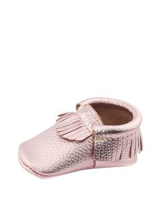 Peblle Moccassin by First Steps Moccassins at Gilt