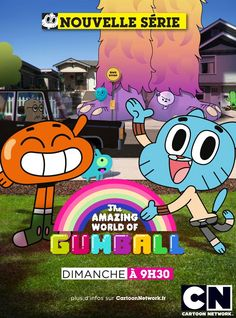 #The #Amazing #World #Of #Gumball #Cartoon #Show.