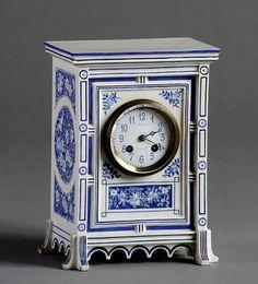 Aesthetic Movement Mantel Clock by J. W. Benson