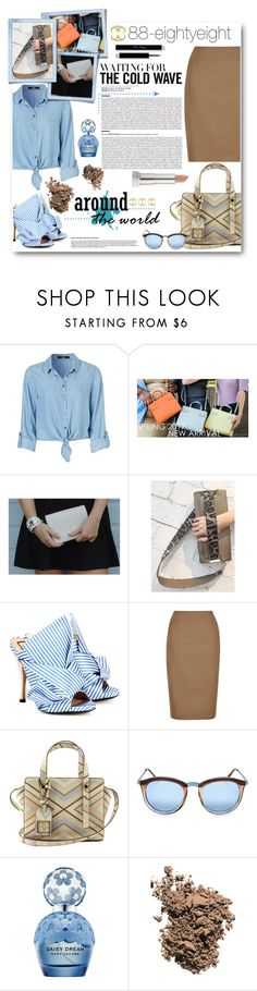 """Luxury Fashion Autumn with 88 - Win a bag!"" by anitadz ❤ liked on Polyvore featuring N°21, Hobbs, Le Specs, Marc Jacobs, Dolce&Gabbana, Maybelline, bag and EightyEight"
