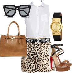 """Women in business never looked so much better..."" by ipekgultekin on Polyvore"
