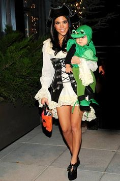 Kim Kardashian Trick or Treating | The Trick Or Treat Outfits Of The Stars | Celeb Toast