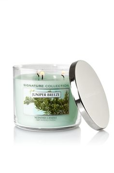 love candles and this particular scent: Juniper Breeze!