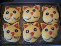Cat Pizza Biscuits | Pams Party & Practical Tips