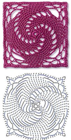 Transcendent Crochet a Solid Granny Square Ideas. Inconceivable Crochet a Solid Granny Square Ideas. Motifs Granny Square, Crochet Motifs, Granny Square Crochet Pattern, Crochet Blocks, Crochet Diagram, Crochet Stitches Patterns, Crochet Chart, Crochet Squares, Thread Crochet