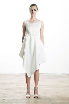 assymetrical satin dress, spring / summer 2013  99€