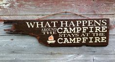 Hey, I found this really awesome Etsy listing at https://www.etsy.com/listing/153882230/campfire-wood-sign-rustic-camping-decor